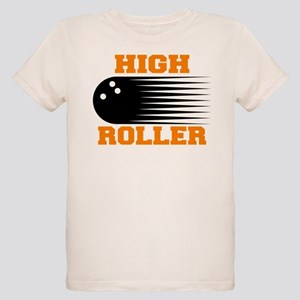High Roller Bowling Organic Kids T-Shirt