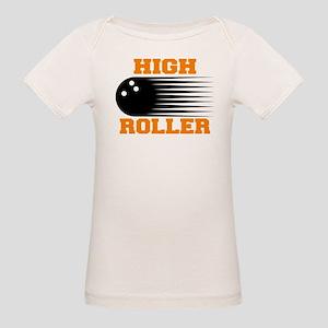 High Roller Bowling Organic Baby T-Shirt