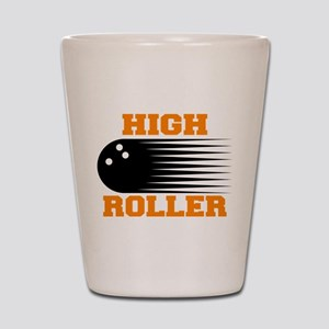 High Roller Bowling Shot Glass
