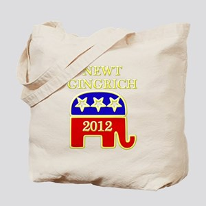 newt gingrich 2012 Tote Bag