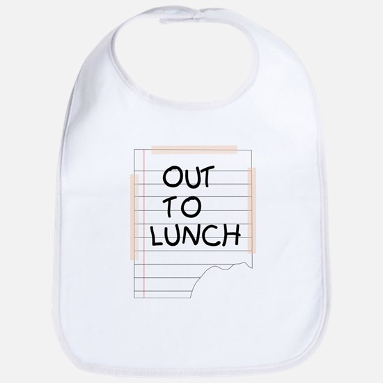 Out To Lunch Note Bib