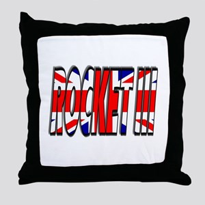 Rocket III Throw Pillow