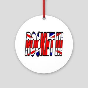 Rocket III Ornament (Round)