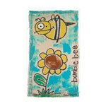 Bumblebee Sticker (Rectangle 50 pk)