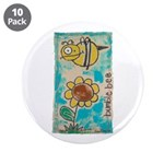 """Bumblebee 3.5"""" Button (10 pack)"""