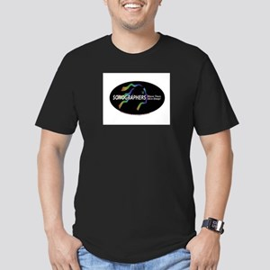 Sonographer more than skin de Men's Fitted T-Shirt
