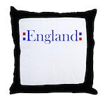 England Throw Pillow