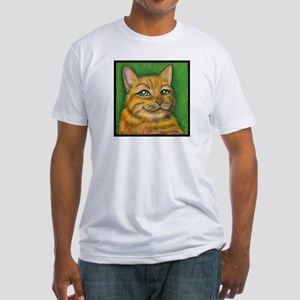 "Tabby Cat ""Dennis"" Fitted T-Shirt"