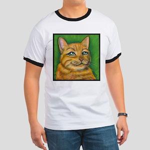 """Tabby Cat """"Dennis"""" Ringer T"""