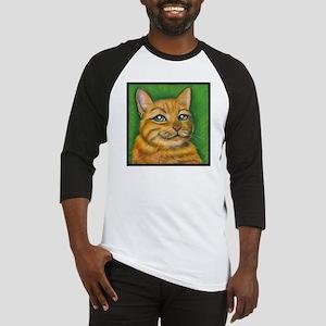 "Tabby Cat ""Dennis"" Baseball Jersey"