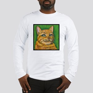 "Tabby Cat ""Dennis"" Long Sleeve T-Shirt"