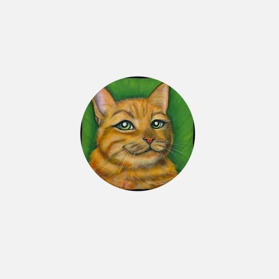 "Tabby Cat ""Dennis"" Mini Button"
