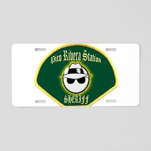 Pico Rivera Sheriff Aluminum License Plate