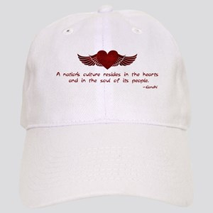 Gandhi- Heart and Soul Cap