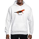 Newt + Bird = Nerd Hooded Sweatshirt