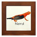 Newt + Bird = Nerd Framed Tile