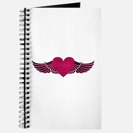 Heart with Wings Journal