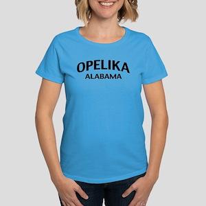 Opelika Alabama Women's Dark T-Shirt
