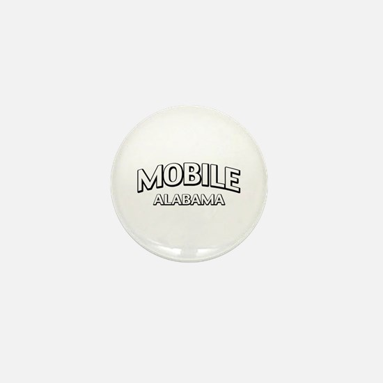 Mobile Alabama Mini Button
