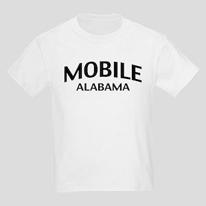 Mobile Alabama Kids Light T-Shirt