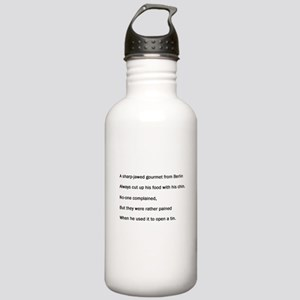 Gourmet Limerick Stainless Water Bottle 1.0L