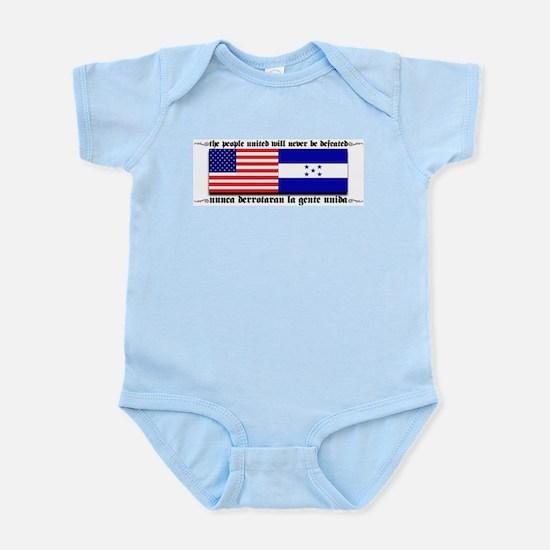 USA - Honduras Unite! Infant Creeper