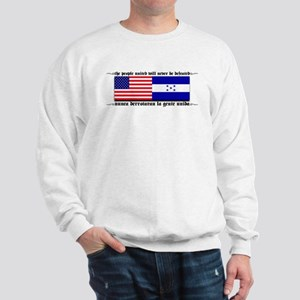USA - Honduras Unite! Sweatshirt