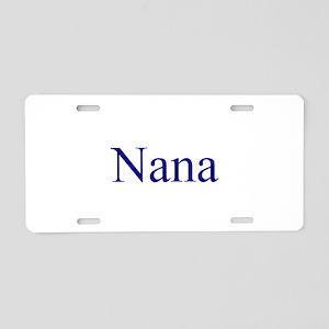 Nana 3 Aluminum License Plate
