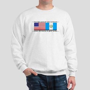 USA Guatemala Unite Sweatshirt