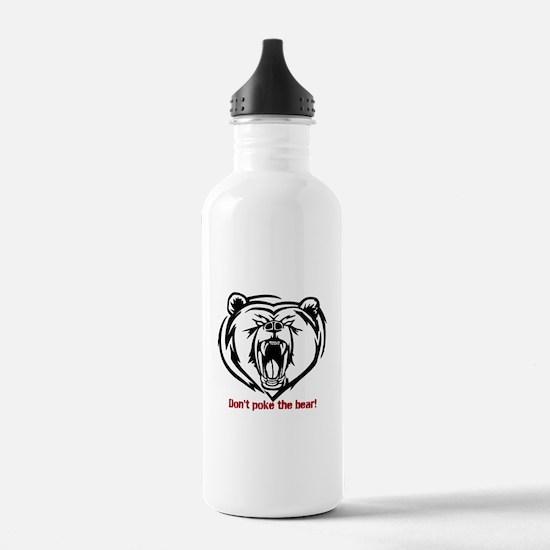 Cool Poke the bear Water Bottle