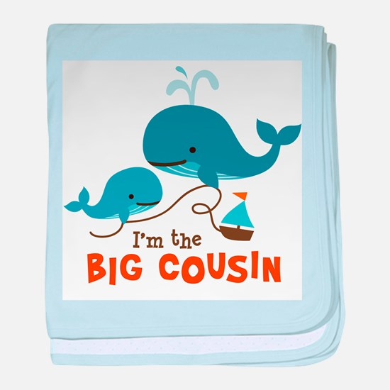 Big Cousin - Whale baby blanket