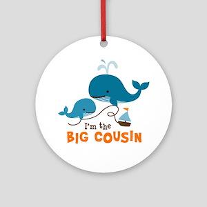 Big Cousin - Whale Ornament (Round)