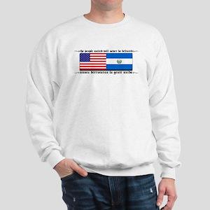 USA - El Salvador Unite! Sweatshirt