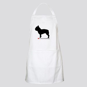 French Bulldog Silhouette Apron