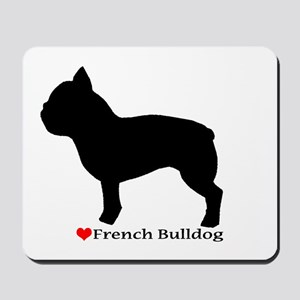 French Bulldog Silhouette Mousepad
