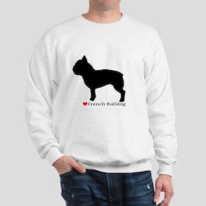 French Bulldog Silhouette Sweatshirt