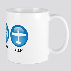 Eat Sleep Fly II Mug