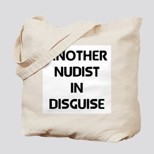 nudist in disguise Tote Bag