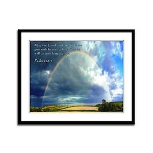 Psalm 128:5 Framed Panel Print