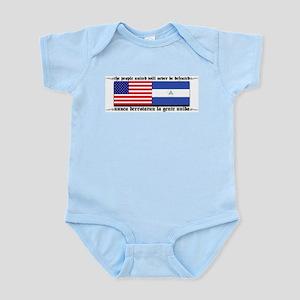 USA - Nicaragua Unite!!! Infant Creeper