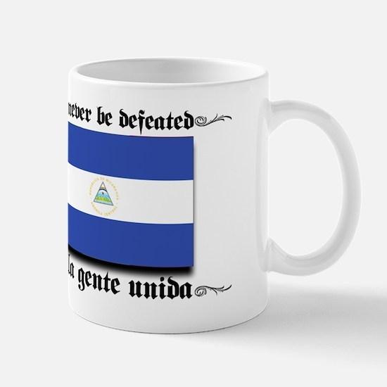 USA - Nicaragua Unite!!! Mug