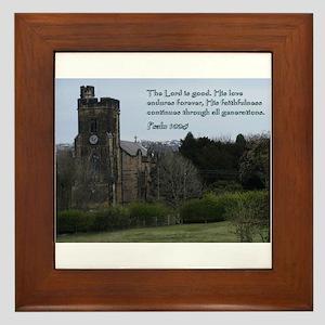 Psalm 100:5 Framed Tile