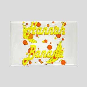 Hannah Banana Rectangle Magnet