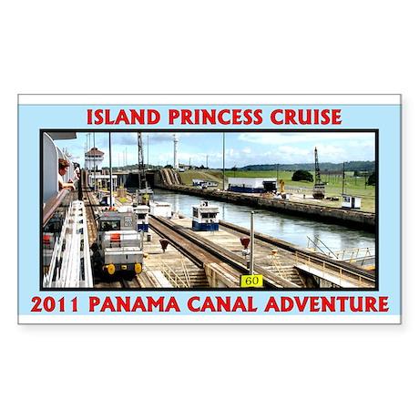 Island Princess - Sticker (Rectangle 10 pk)