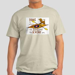 Dog and Kayak Light T-Shirt