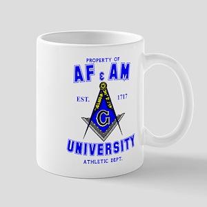 AF & AM University Mug