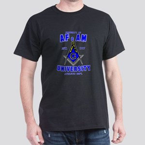 AF & AM University Dark T-Shirt