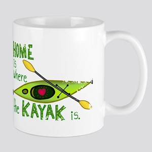 Home is Where the Kayak Is Mug
