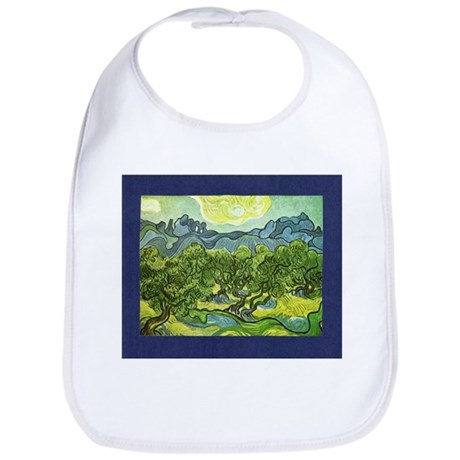 Van Gogh Olive Trees Bib