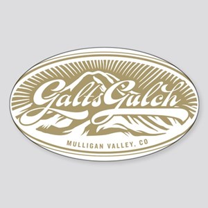 Galt's Gulch Sticker (Oval)